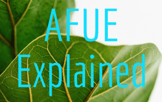 What does AFUE mean?