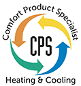 CPS HEATING AND COOLING Logo